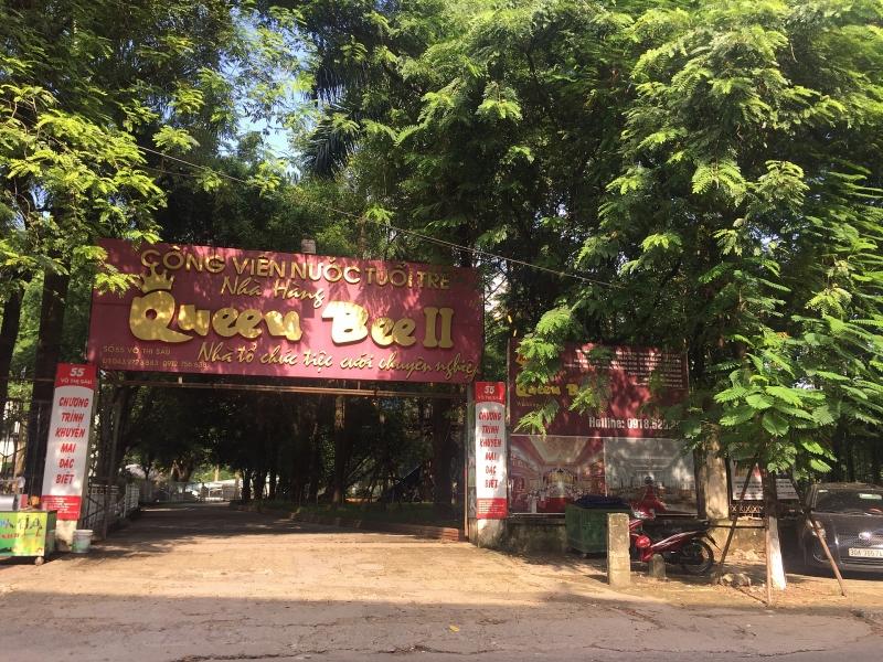 Công viên Tuổi trẻ Thủ đô: Nhà hàng