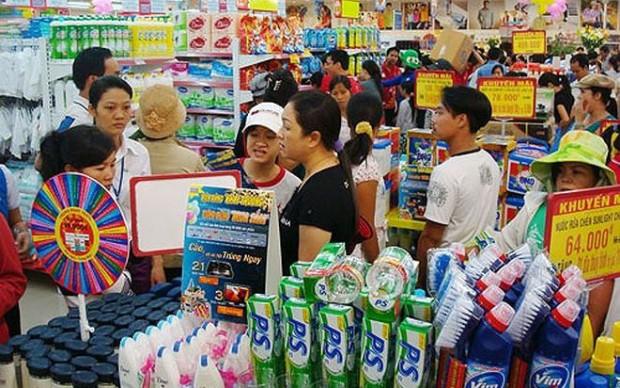 Tổng mức bán lẻ hàng hóa và doanh thu dịch vụ tiêu dùng đạt 4.481,6 nghìn tỷ đồng