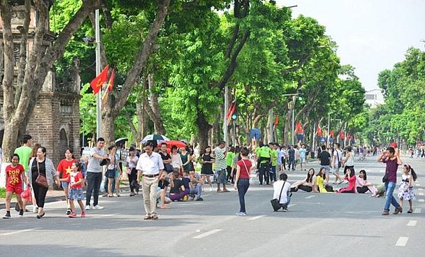 Tháng 10-2019, Thủ đô Hà Nội đón gần 2,3 triệu khách du lịch