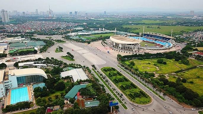 Hà Nội: Tổ chức giao thông phục vụ thi công đường đua F1