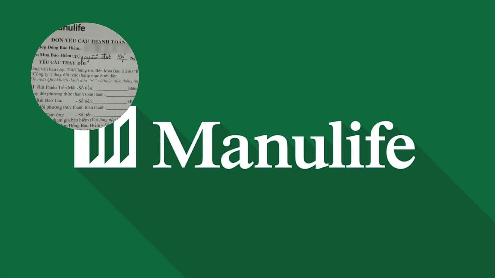 Cục CT & BVNTD vào cuộc, Manulife nói vẫn đúng... quy trình