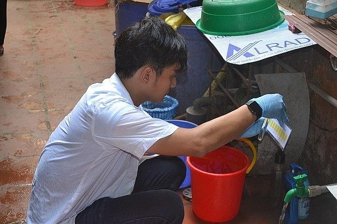 Hà Nội tiếp tục công bố kết quả xét nghiệm nước sông Đà