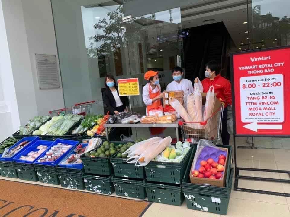 Mở điểm bán hàng tạm thời, dã chiến để cung ứng nhu yếu phẩm chống dịch Covid-19