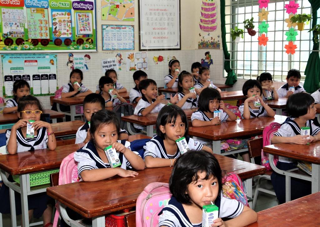 TP.HCM chính thức khởi động Chương trình Sữa học đường từ tháng 11/2019