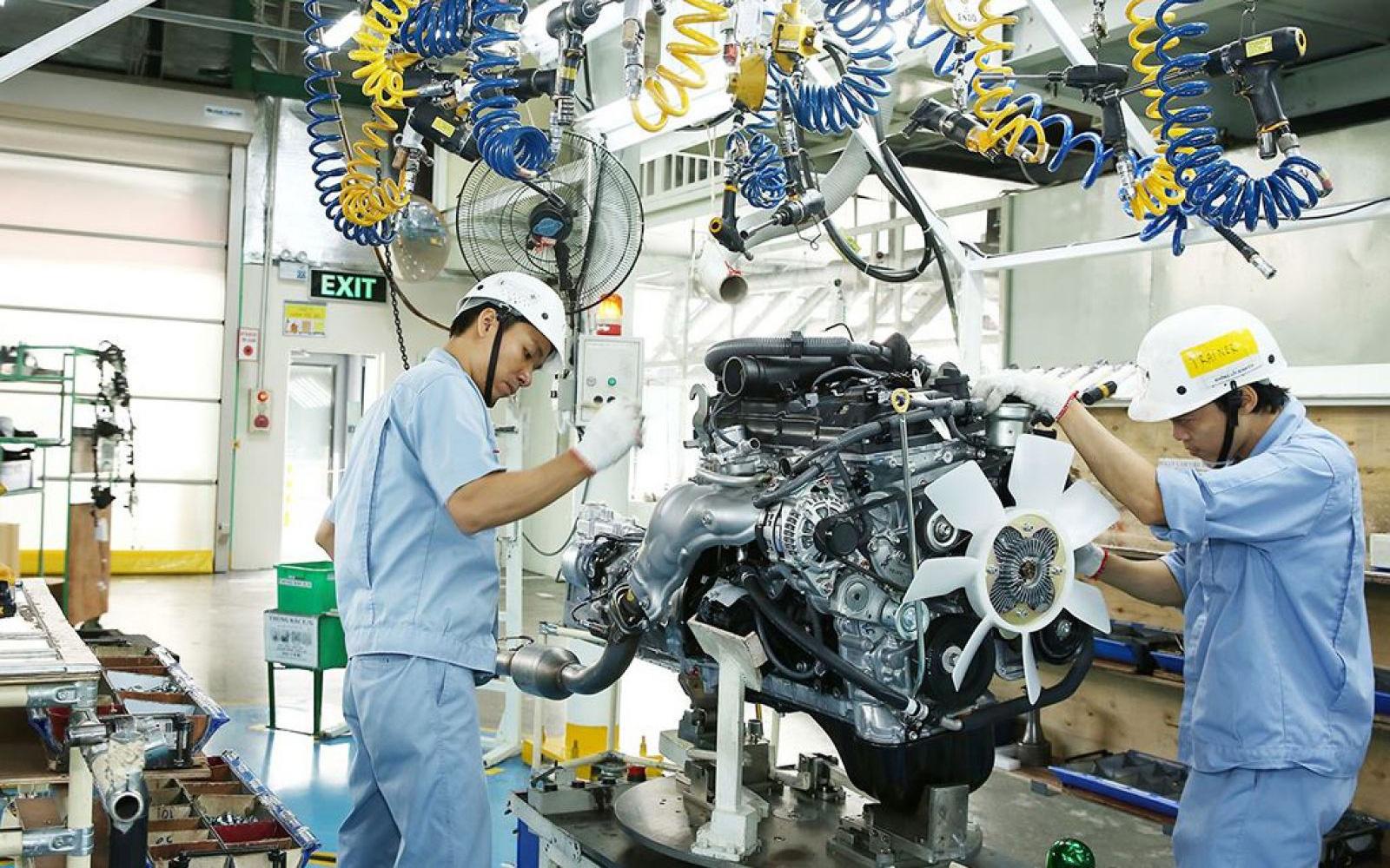 Lĩnh vực công nghiệp chế biến, chế tạo thu hút vốn FDI đạt 21,56 tỷ USD