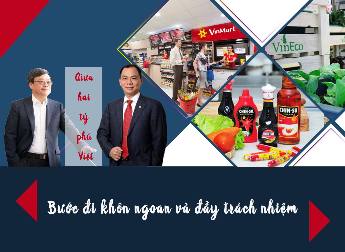 Thương vụ lịch sử giữa 2 tỷ phú Việt: Bước đi khôn ngoan và đầy trách nhiệm