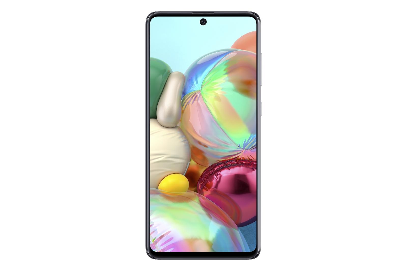 Samsung Galaxy A71 có 4 camera sau, chụp cận cảnh