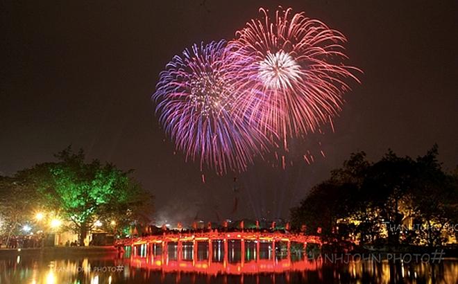 Hà Nội sẽ bắn pháo hoa tại tất cả các quận, huyện, thị xã trong đêm giao thừa