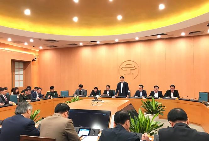 Chủ tịch Hà Nội khuyến cáo người dân đeo khẩu trang phòng dịch virus Corona