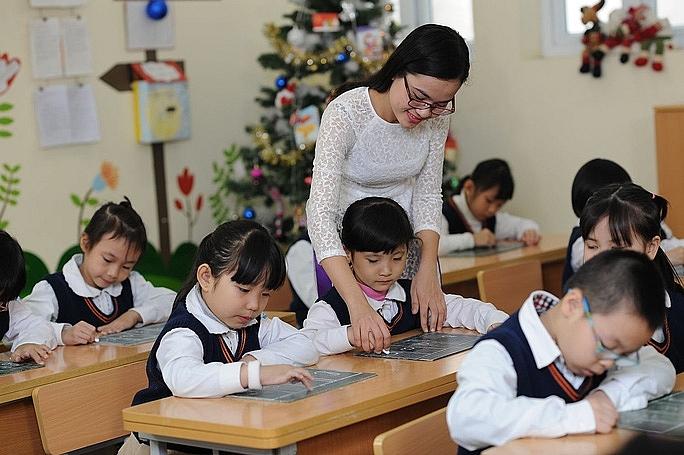 Thực hiện nâng trình độ chuẩn giáo viên đến hết năm 2030