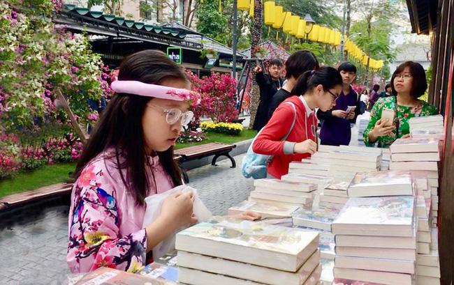 Phố Sách Hà Nội: Nhiều hoạt động văn hóa hấp dẫn Xuân Canh Tý 2020