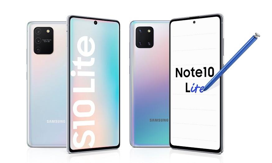 Samsung giới thiệu Galaxy S10 Lite và Galaxy Note 10 Lite