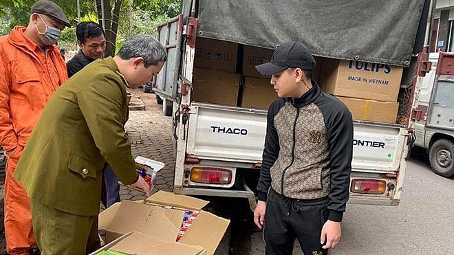 Chuyển giao 102.726 khẩu trang cho Sở Y tế Hà Nội chống dịch Covid-19