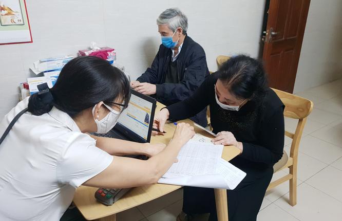 Gói an sinh xã hội đã đến với người dân huyện Mê Linh