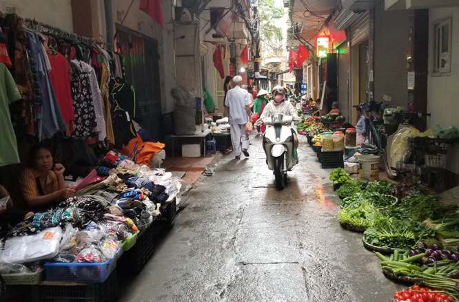 Kiên quyết xử lý chợ
