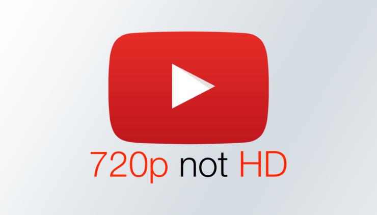 YouTube thay đổi định nghĩa độ phân giải video: 1080p trở lên mới là HD