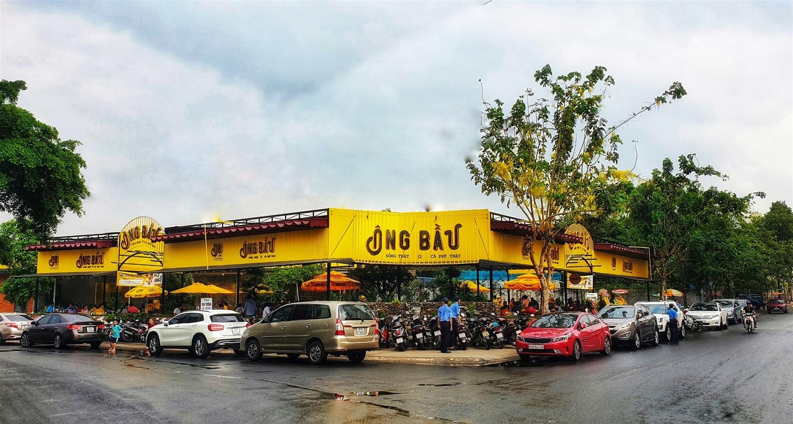 Chuỗi cà phê Ông Bầu mở quán lớn nhất tại Bình Dương