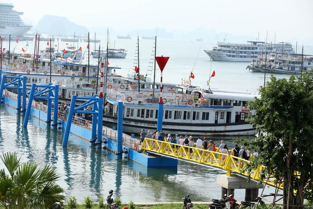 Cơ hội tốt nhất khám phá bến nội địa tại Cảng tàu khách quốc tế Hạ Long
