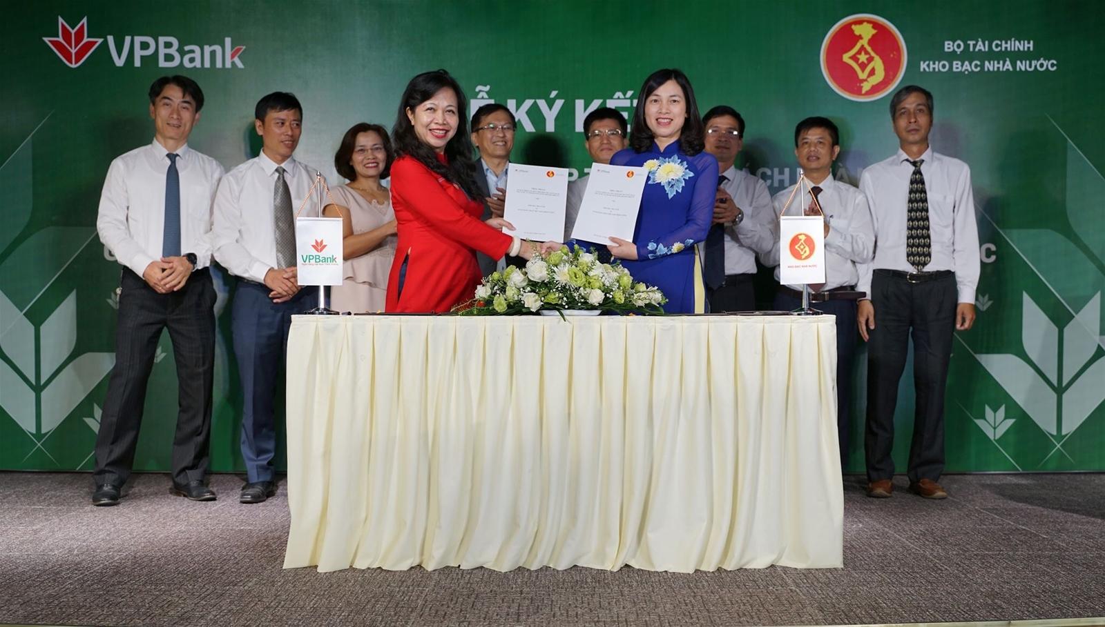 VPBank hợp tác với Kho bạc Nhà nước