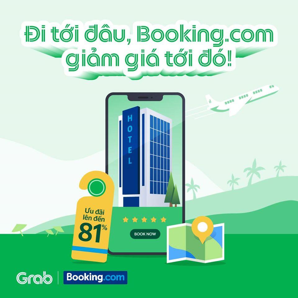 Ưu đãi mùa hè đặc biệt từ Booking.com và Grab!