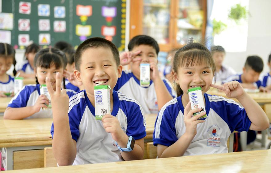Sữa học đường TP HCM: Chương trình nhân văn đem lại nhiều niềm vui cho con trẻ