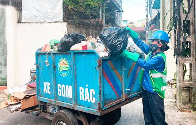 Hiệu quả từ thu gom rác một khung giờ