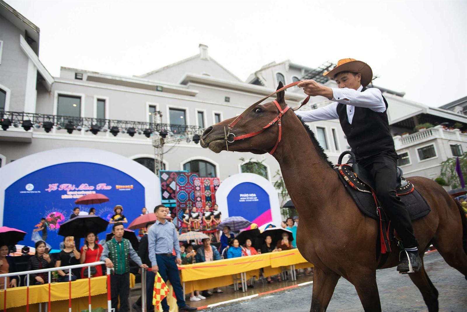 Sa Pa lại tung chiêu độc hút khách với giải đua ngựa siêu ngầu