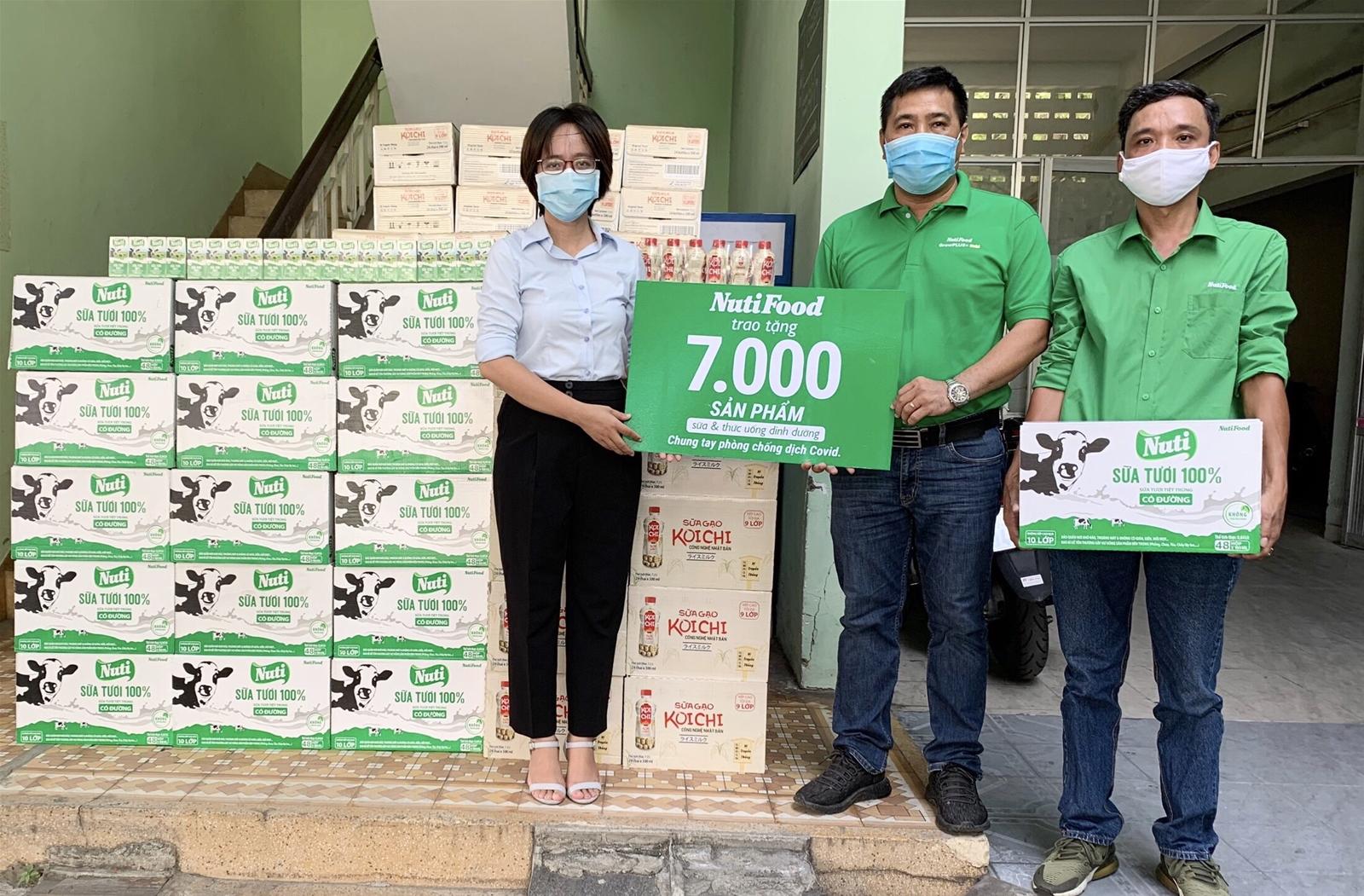 NutiFood tặng 7.000 sản phẩm sữa và thức uống dinh dưỡng cho 3 BV tại Đà Nẵng