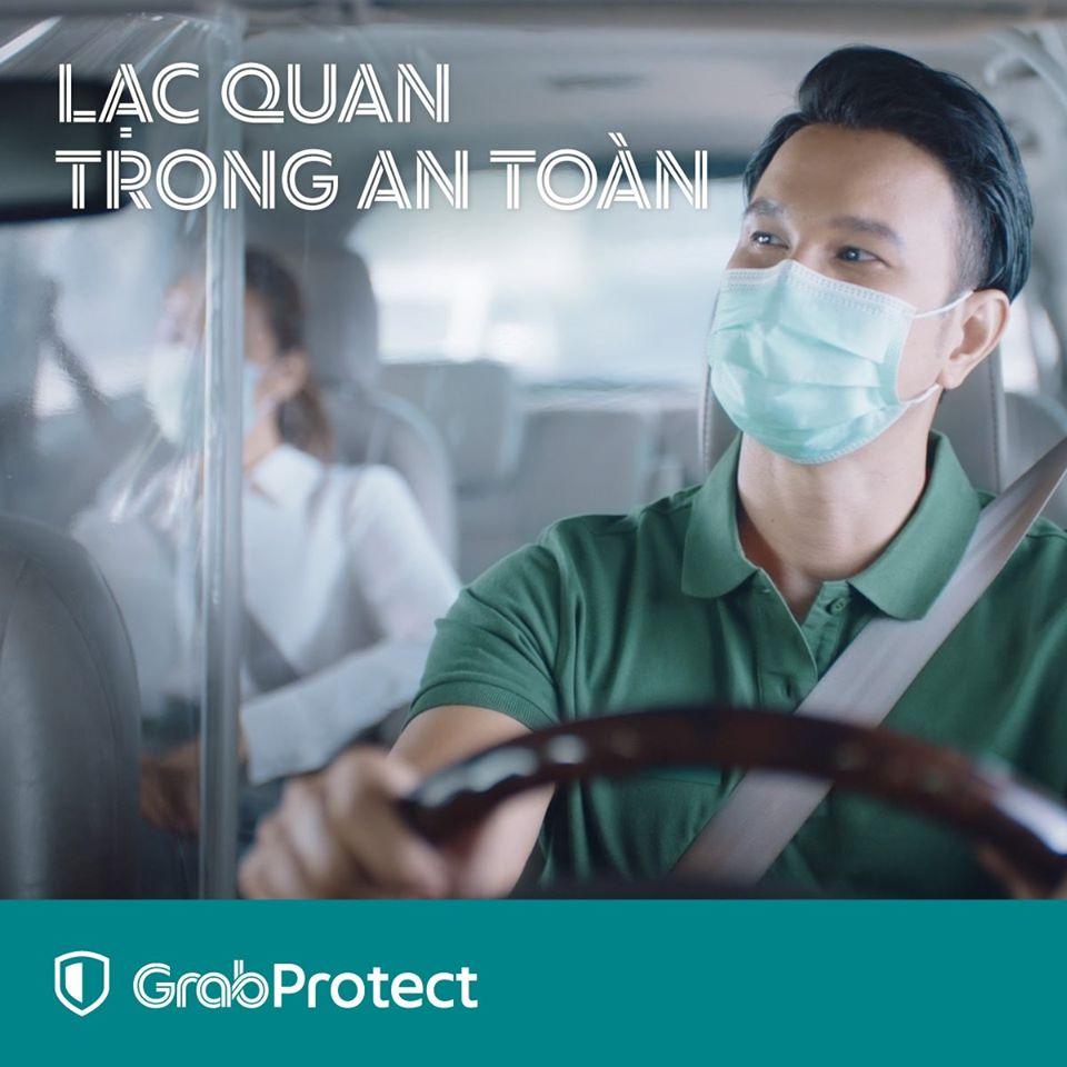 Hướng dẫn về di chuyển an toàn cùng Grab