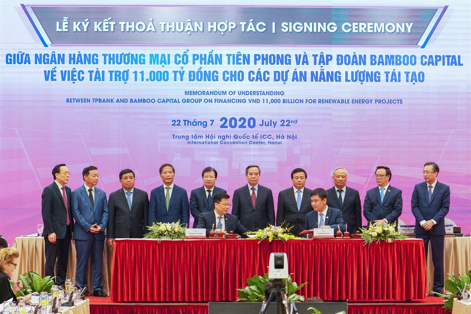 TPBank và BCG ký kết thỏa thuận hợp tác 11.000 tỷ cho dự án năng lượng tái tạo