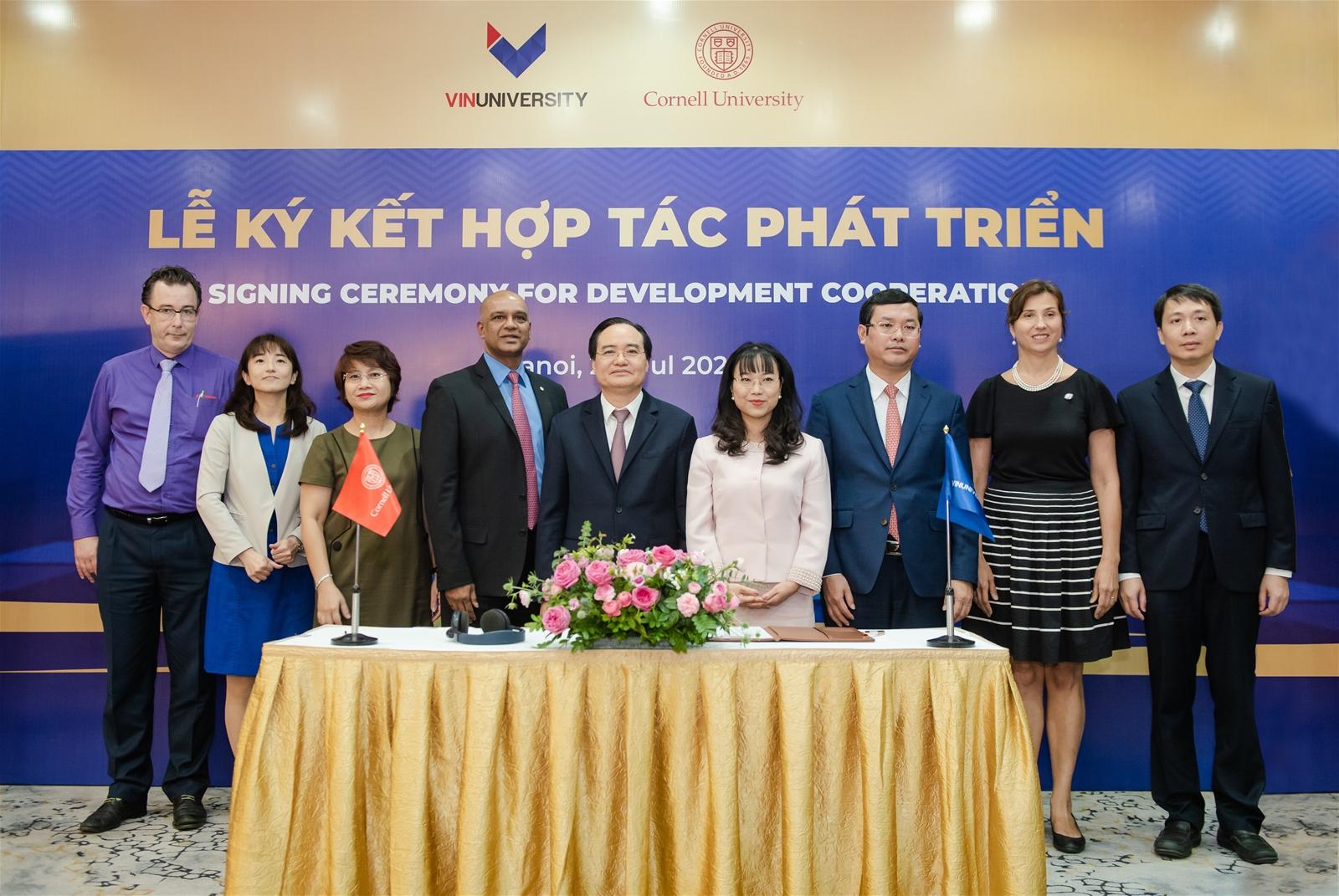 VinUni tiếp nhận sinh viên quốc tế của ĐH Cornell sang học tập tại Việt Nam