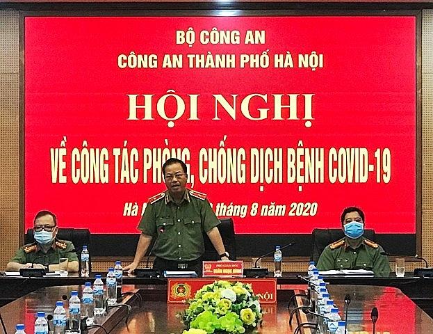 """CATP Hà Nội quán triệt thực hiện nghiêm túc tinh thần """"chống dịch như chống giặc"""""""