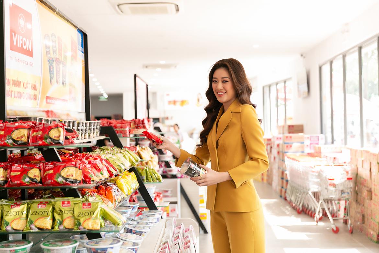 VIFON đồng hành cùng Hoa hậu Khánh Vân trong cuộc thi Hoa hậu Hoàn vũ Thế giới