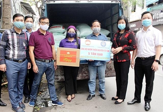Mặt trận Tổ quốc TP Hà Nội tuyên truyền PBGDPL về phòng chống dịch bệnh Covid-19