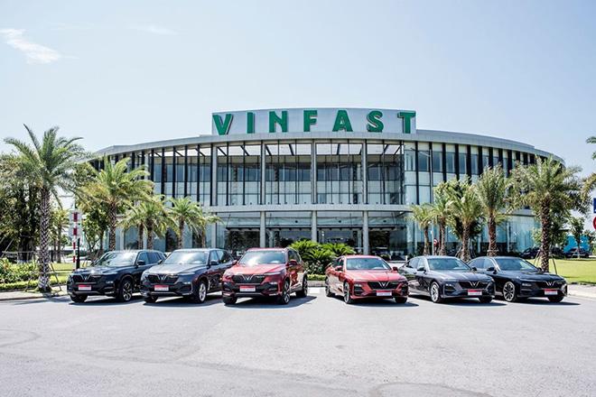 VinFast bán được 2.214 ô tô trong tháng 7/2020