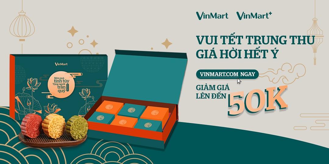 Cơ hội mua bánh Trung thu VinMart với giá siêu mềm, siêu hời