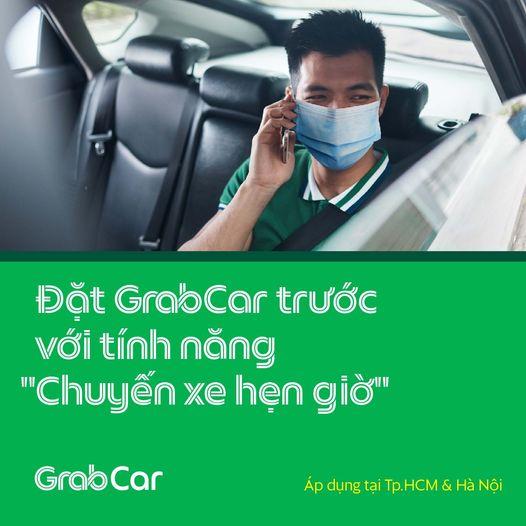 """Dễ dàng sắp xếp lịch trình với tính năng """"Chuyến xe hẹn giờ"""" của GrabCar"""