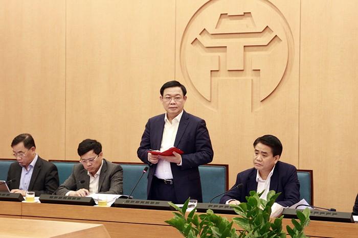 Hà Nội dừng tất cả đoàn công tác nước ngoài, hội họp không cần thiết