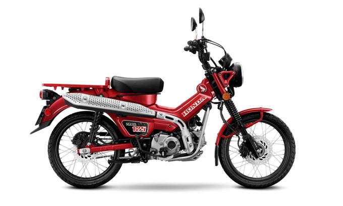 Sắp ra mắt Honda Trail 125 2021, giá từ 4.100 USD