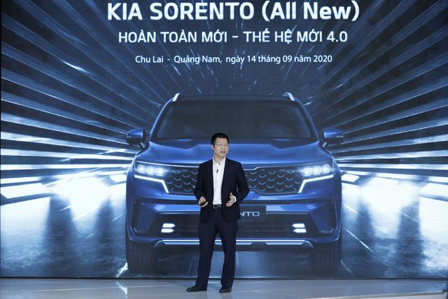 Mẫu xe SORENTO thế hệ mới (4.0) - Thế hệ sản phẩm mới nhất của thương hiệu KIA