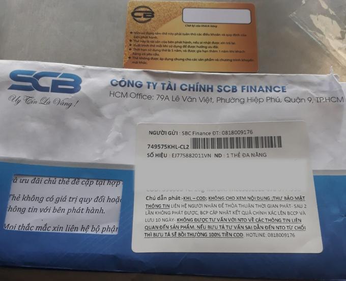 SCB cảnh báo thủ đoạn mạo danh nhân viên ngân hàng lừa đảo mở thẻ tín dụng giả