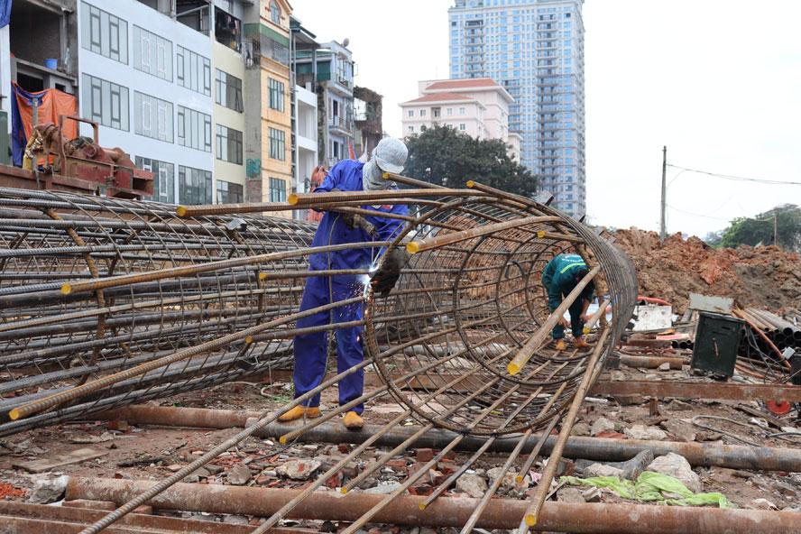 Các công trình giao thông trọng điểm của Thủ đô: Gấp rút triển khai