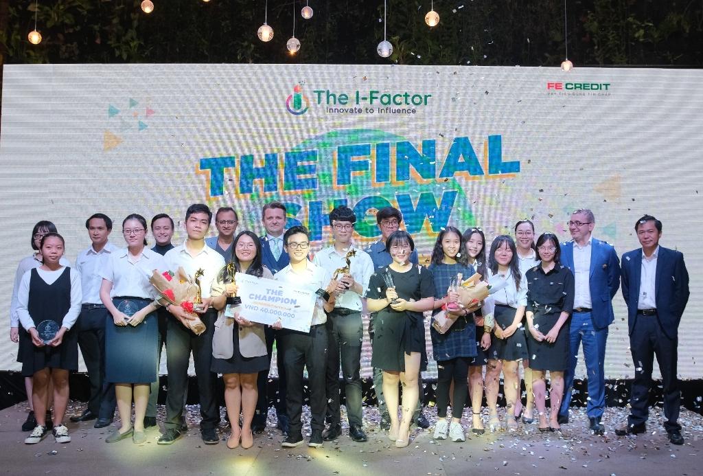 Chung kết cuộc thi thi tìm kiếm tài năng trẻ The I-Factor 2019