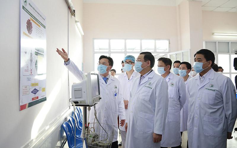 Bệnh viện Đa khoa Đức Giang phải luôn sẵn sàng phòng, chống dịch Covid-19