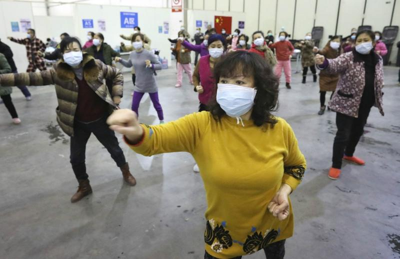 Bên trong bệnh viện di động mới thành lập tại Trung Quốc