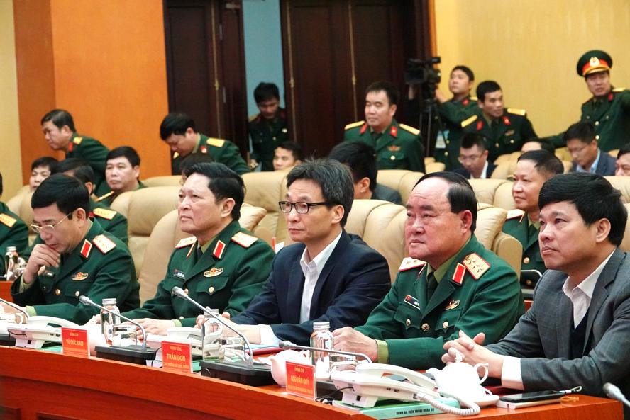 Bộ Quốc phòng tổ chức diễn tập phòng, chống dịch Covid-19
