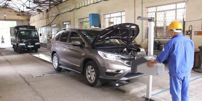 Xe quá hạn đăng kiểm lưu thông tại Hà Nội bị xử phạt nghiêm