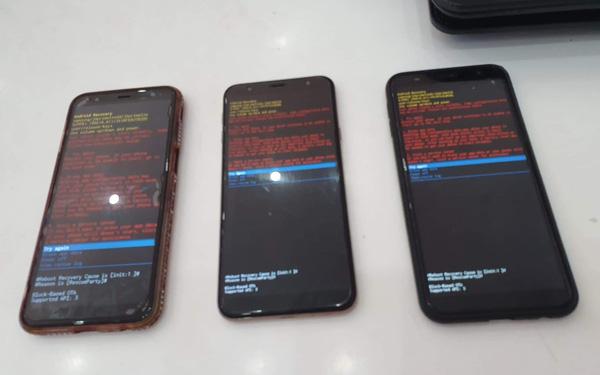 Người dùng smartphone Samsung Galaxy J 2018 đồng loạt gặp lỗi