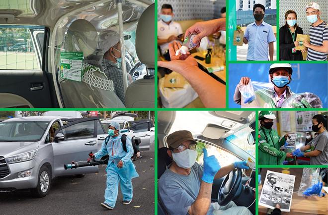 Grab giới thiệu thêm nhiều giải pháp phòng chống dịch Covid-19