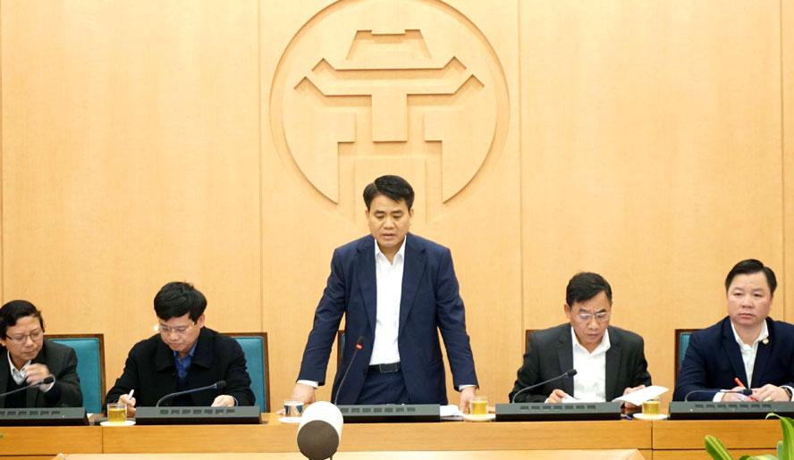 """Hà Nội: Phòng, chống dịch """"4 tại chỗ"""" gắn với trách nhiệm người đứng đầu"""